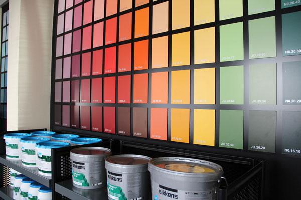 MRS Halle (Saale) - Farben mischen